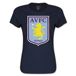 Aston Villa Women's T-Shirt (Navy)