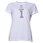 Aston Villa Guzan Women's T-Shirt (White)
