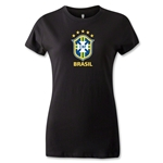 Brazil Women's T-Shirt (Black)