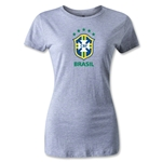 Brazil Women's T-Shirt (Gray)