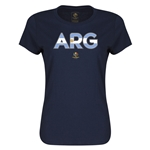 Argentina Copa America 2016 Women's Elements T-Shirt (Navy)