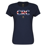 Costa Rica Copa America 2016 Women's Elements T-Shirt (Navy)