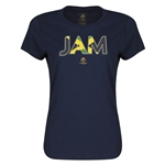 Jamaica Copa America 2016 Women's Elements T-Shirt (Navy)