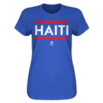 Haiti Copa America 2016 Women's Core T-Shirt (Royal)