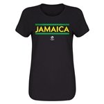 Jamaica Copa America 2016 Women's Core T-Shirt (Black)