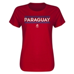Paraguay Copa America 2016 Women's Core T-Shirt (Red)