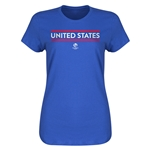 United States Copa America 2016 Women's Core T-Shirt (Royal)