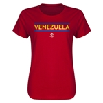 Venezuela Copa America 2016 Women's Core T-Shirt (Red)