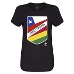 Chile vs Bolivia Copa America 2016 Women's Matchup T-Shirt (Black)