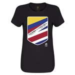 Colombia vs CRC Copa America 2016 Women's Matchup T-Shirt (Black)