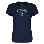 Glendale Copa America 2016 Host City Women's T-Shirt (Navy)