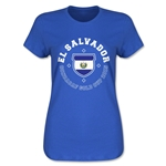 CONCACAF Gold Cup 2015 El Salvador Women's T-Shirt (Royal)