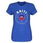 CONCACAF Gold Cup 2015 Haiti Women's T-Shirt (Royal)