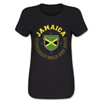 CONCACAF Gold Cup 2015 Jamaica Women's T-Shirt (Black)