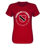 CONCACAF Gold Cup 2015 Trinidad and Tobago Women's T-Shirt (Red)
