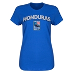 Honduras CONCACAF 2015 Men's Olympic Qualifying Women's T-Shirt (Royal)