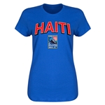 Haiti CONCACAF 2015 Men's Olympic Qualifying Women's T-Shirt (Royal)