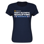 CONCACAF 2015 Men's Olympic Qualifying Women's T-Shirt (Navy)