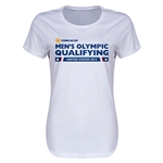 CONCACAF 2015 Men's Olympic Qualifying Women's T-Shirt (White)
