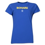 Bonaire CONCACAF Distressed Women's T-Shirt (Royal)