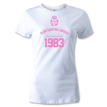 Club Santos Laguna 1983 Women's Distressed T-Shirt (White)