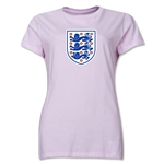 England Core Women's T-Shirt (Pink)