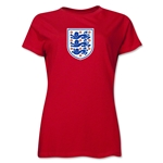 England Core Women's T-Shirt (Red)