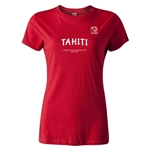 FIFA Beach World Cup 2013 Tahiti Women's T-Shirt (Red)