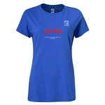 FIFA Beach World Cup 2013 Japan Women's T-Shirt (Royal Blue)