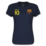 Barcelona Messi Women's T-Shirt (Navy)