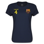 Barcelona Rakitic Women's T-Shirt (Navy)