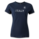 FIFA Confederations Cup 2013 Women's Italy T-Shirt (Navy)