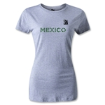 FIFA Confederations Cup 2013 Women's Mexico T-Shirt (Gray)
