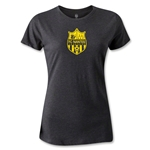 FC Nantes Distressed Crest Women's T-Shirt (Dark Gray)