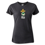 1970 FIFA World Cup Juanito Mascot Women's T-Shirt (Dark Gray)