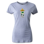1970 FIFA World Cup Juanito Mascot Women's T-Shirt (Gray)