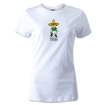 1970 FIFA World Cup Juanito Mascot Women's T-Shirt (White)