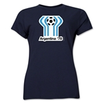 1978 FIFA World Cup Argentina Women's Historical Emblem T-Shirt (Navy)