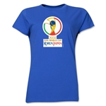 2002 FIFA World Cup Korea/Japan Women's Historical Emblem T-Shirt (Royal)
