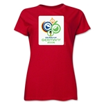 2006 FIFA World Cup Germany Women's Historical Emblem T-Shirt (Red)