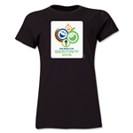 2006 FIFA World Cup Germany Women's Historical Emblem T-Shirt (Black)