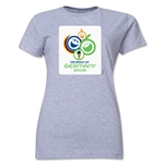 2006 FIFA World Cup Germany Women's Historical Emblem T-Shirt (Grey)