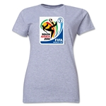 2010 FIFA World Cup South Africa Women's Historical Emblem T-Shirt (Grey)