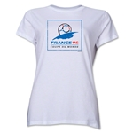 1998 FIFA World Cup France Women's Historical Emblem T-Shirt (White)