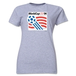 1994 FIFA World Cup USA Women's Historical Emblem T-Shirt (Grey)