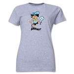 1978 FIFA World Cup Guachito Women's Mascot Logo T-Shirt (Grey)