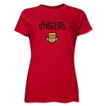 Ft. Lauderdale Strikers Women's T-Shirt (Red)