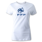 France FFF Women's T-Shirt (White)