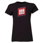 2018 FIFA World Cup Russia(TM) Women's T-Shirt (Black)
