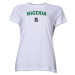 Nigeria FIFA U-17 Women's World Cup Costa Rica 2014 Women's Core T-Shirt (White)